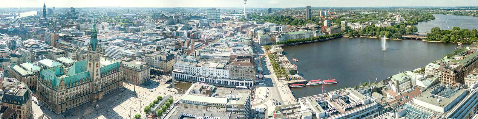 EHB Hamburg, Innenstadt mit Alster - Rechtsanwälte