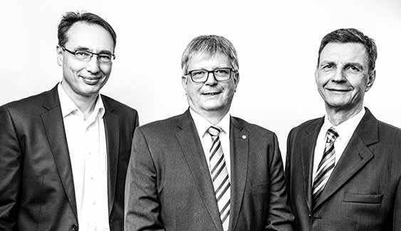 Rechtsanwalt Dirk Ewald, Bernhard Hänel, Andreas Baatz, EHB Hamburg