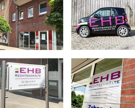 Rechtsanwaelte-Bramfeld-EHB-Hamburg, Eingang Bramfelder Chaussee